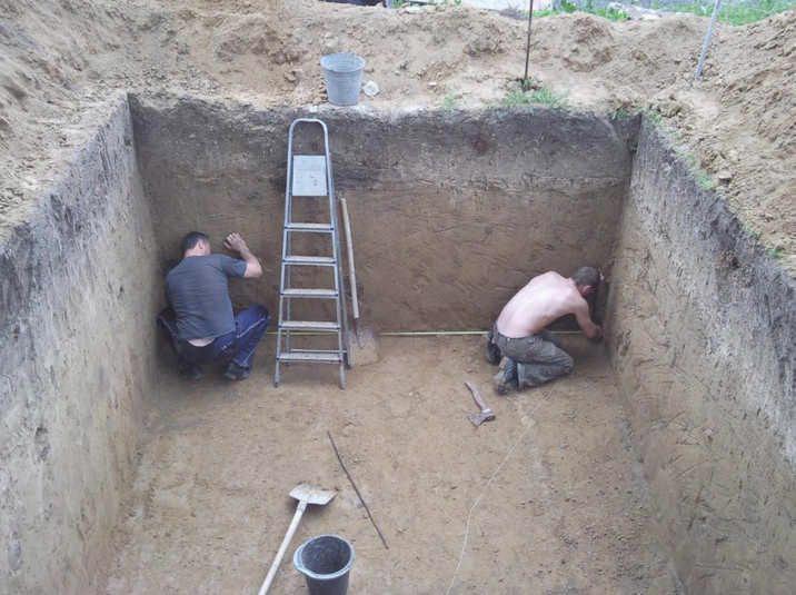 Погреб в частном доме своими руками фото, схема, пошаговая инструкция